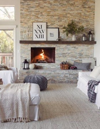 This Fireplace Is An Excellent Focal Point In The Room