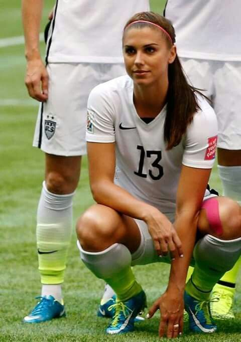 Alex Morgan. God she is so gorgeous