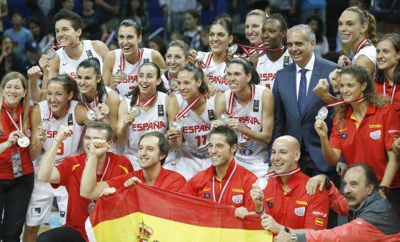 plata en el mundial de baloncesto femenino 2014