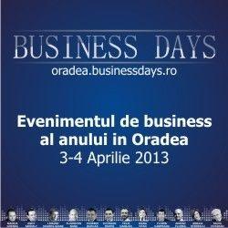 Oradea Business Days - beneficii pe 3 planuri | Bogdan Pater