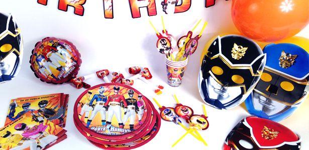 """Addobbi e decorazioni per feste a tema """"Power Rangers™"""" su VegaooParty"""