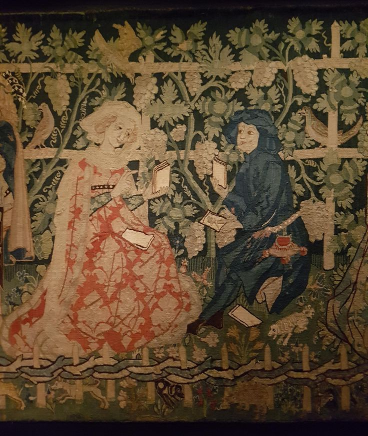 Der geschlossene Liebesgarten,  Basel, historisches Museum, 1470-1480