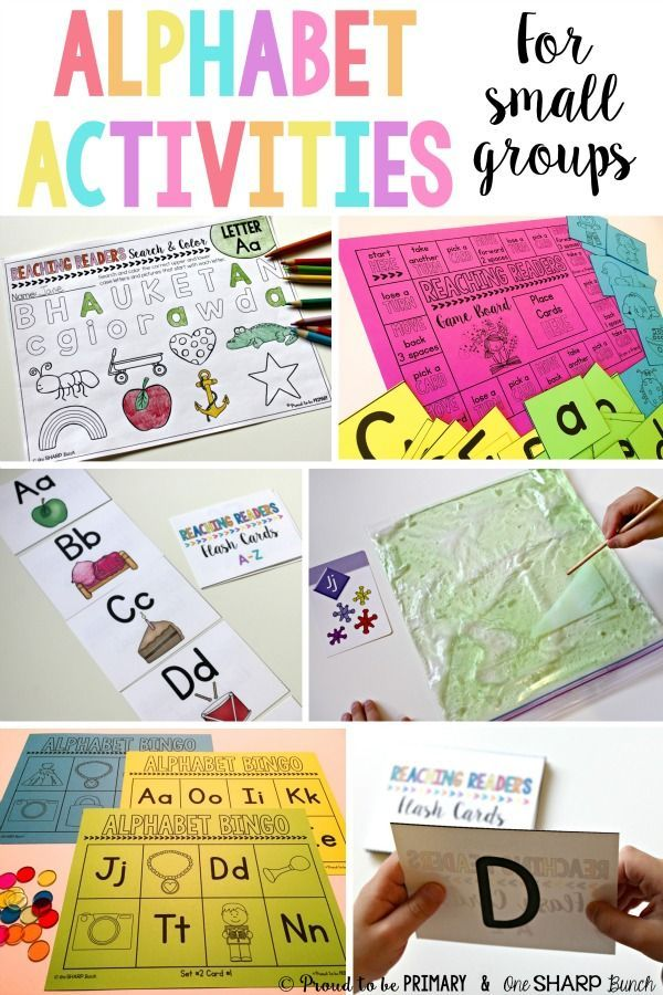 A post for teachers that is jam-packed with alphabet activities for preschool and Kindergarten kids. These ideas are great for small group guided reading, literacy centers, or for extra practice at home. Activities include alphabet videos, flash cards, bi