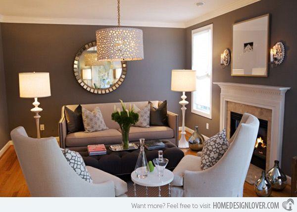 Book Club Meeting at Your House? via homedesignlover.com