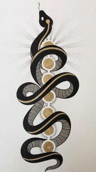 """""""Every culture has a snake somewhere in its mythology and is often understood as an agent of initiation into secret knowledge, sexual vitality and transcendence."""" {Toko-pa Turner}"""