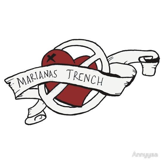 marianas trench band logo - Google Search