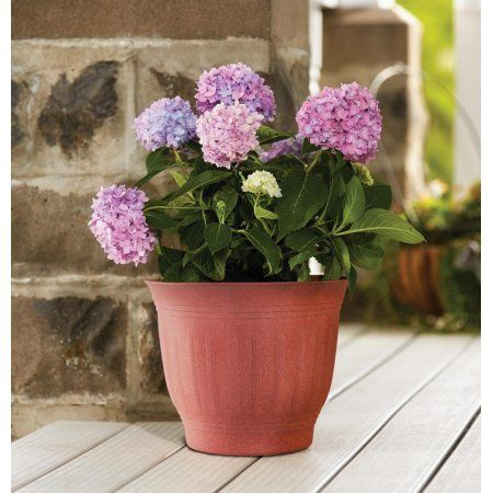 Patio Garden Resin Planters Planters Plastic Planter