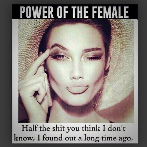 Do you think beauty is a source of power?