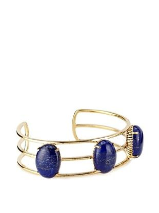 63% OFF Elizabeth and James Gold-Plated Berlin Lapis Cabochon Cuff