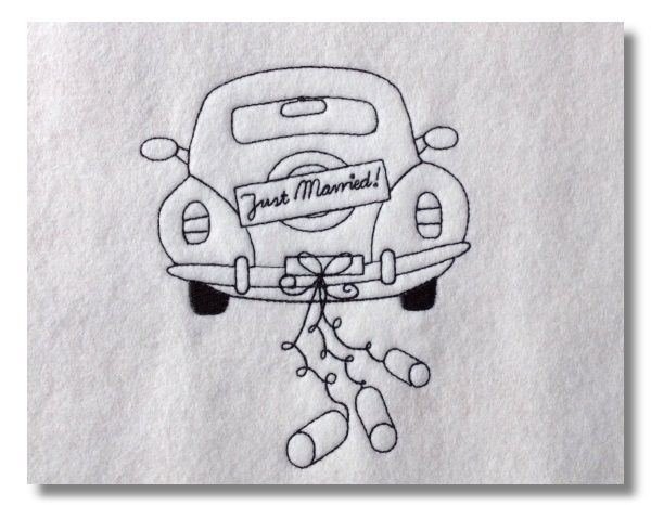 Just Married Auto Crafts Just Married Wedding Und Printables