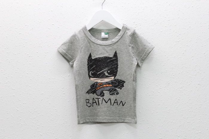 2-7Year 2016 Summer New Cartoon Children T Shirts Boys Kids batman Designs kids Clothing For Boys Baby Clothing Girls T-Shirts