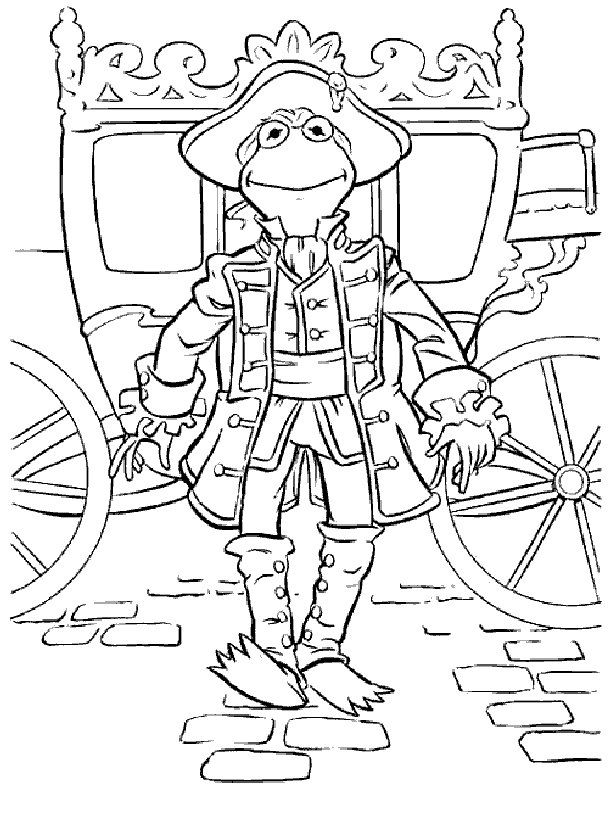 The 146 best Disney Muppets Coloring Pages Disney images on ...