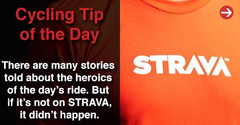 @Strava or it didn't happen!