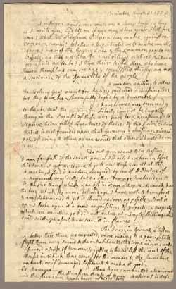 "Letter from Abigail Adams to John Adams, 31 March - 5 April 1776 ""Remember the Ladies"""