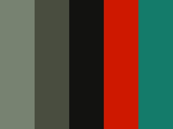 """""""Manly and Girly"""" by Malpanka black, gray, green, red, teal, for the living room?"""