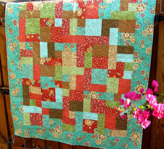 Free Quilt Pattern For Yellow Brick Road : 1000+ images about Quilts - Yellow Brick Road on Pinterest Fat quarters, Disappearing 9 patch ...