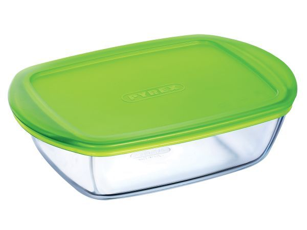 Pyrex Cook & Store Rectangular Dish with Lid - Pyrex glassware has been…