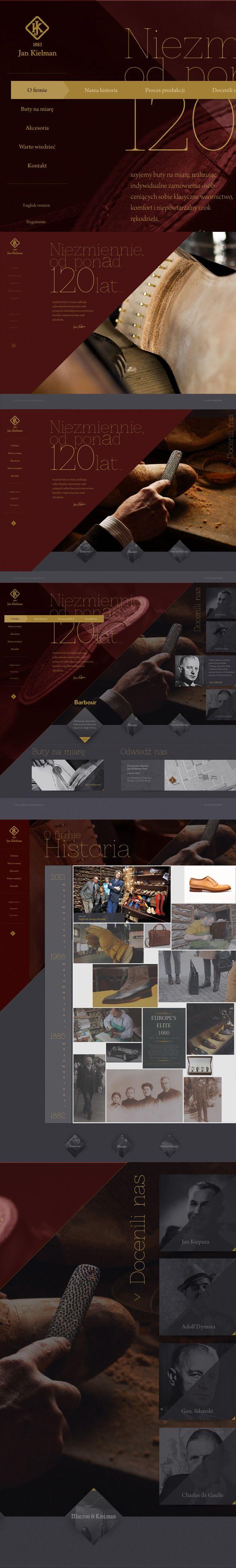 : traditional shoe manufacturer by Piotr Adamski, via Behance