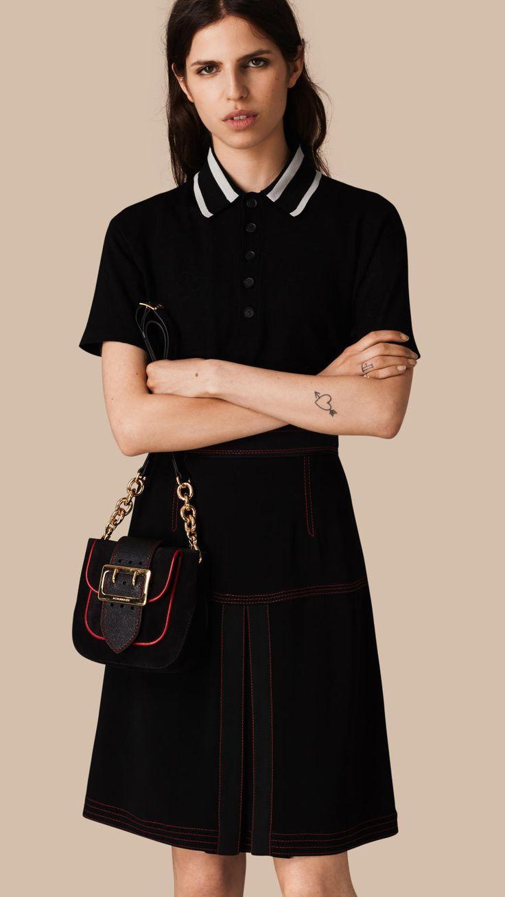 Military Pleat A-line Skirt | Burberry