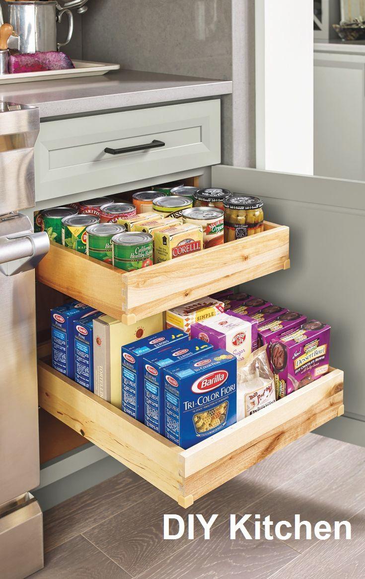 12 Creative Diy Ideas For The Kitchen With Images Kitchen Renovation Diy Kitchen Storage Home Kitchens