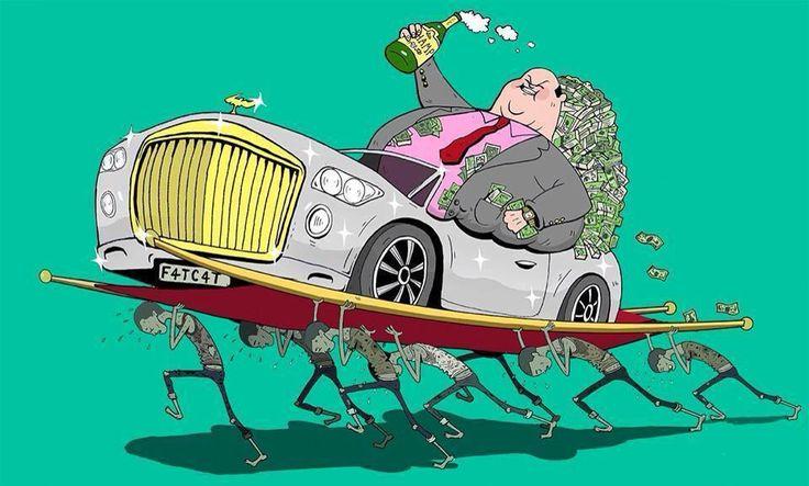 El rico es más rico, mientras cada vez existan más pobres