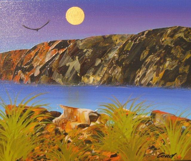 "Peter Coad ""Moon Over Mornington"""