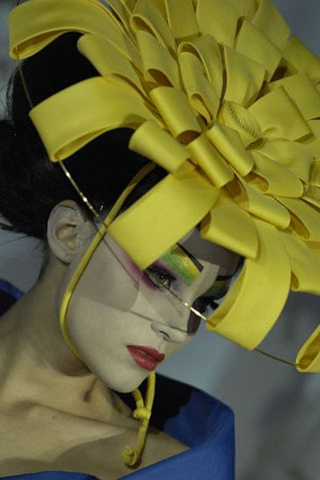 .Hats, John Galliano, Christian Dior, Mad Hatters, Dior Haute, Spring 2007, Couture 2007, Haute Couture, Hat