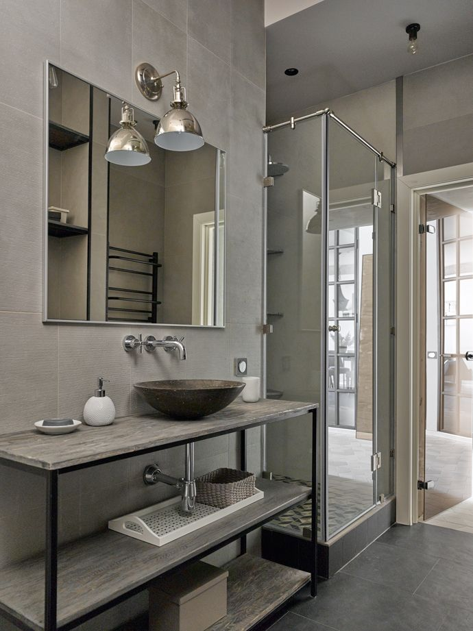 #bathroom #grey