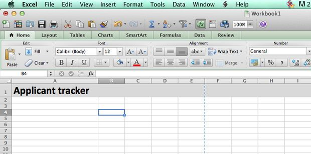 Candidate Tracking Spreadsheet Business Template Job Application Spreadsheet Template