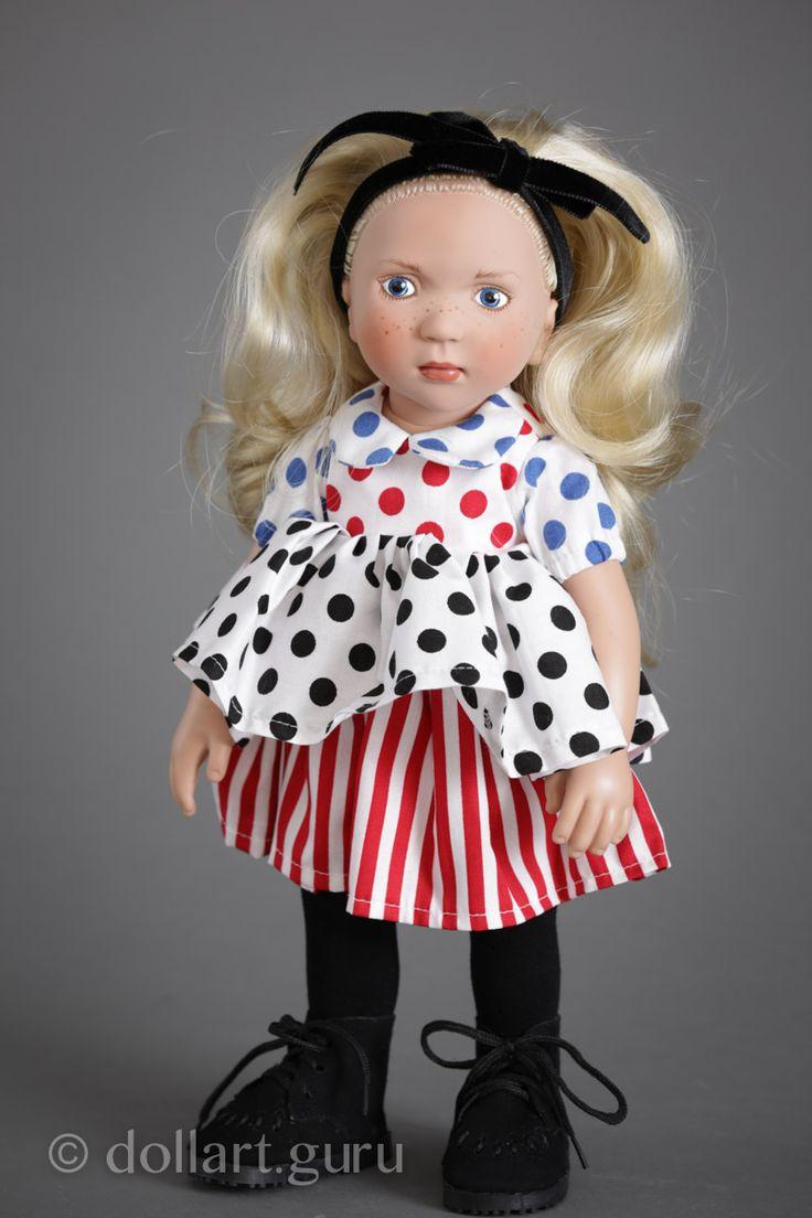 Anka. Виниловая кукла Цвергназе | Doll Art Guru