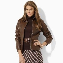 Ralph Lauren Leather Jacket ♥