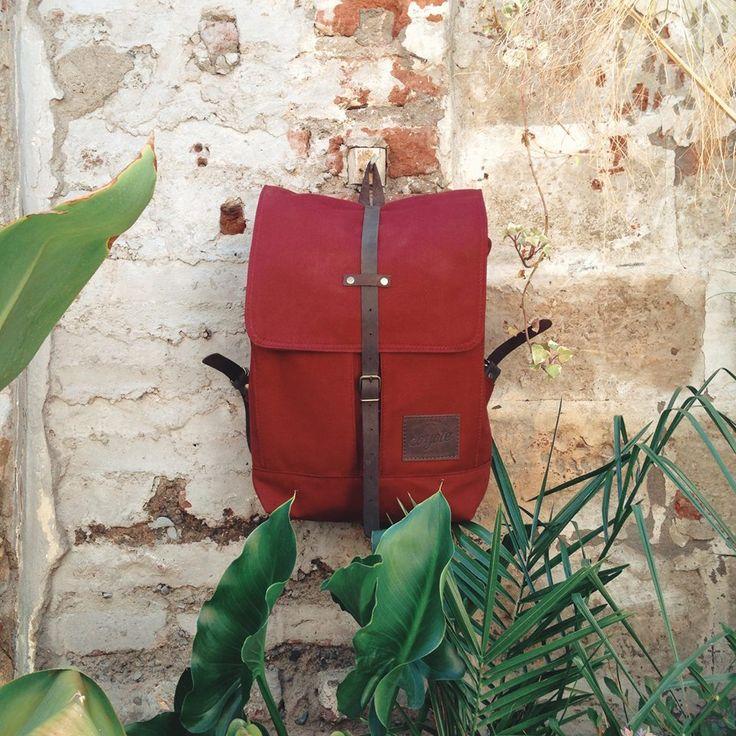 Nice rucksack by Coyote Bags.