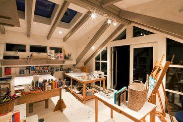 home ceramics studio | ... Home Office design by San Francisco Architect Lehman Design Studio
