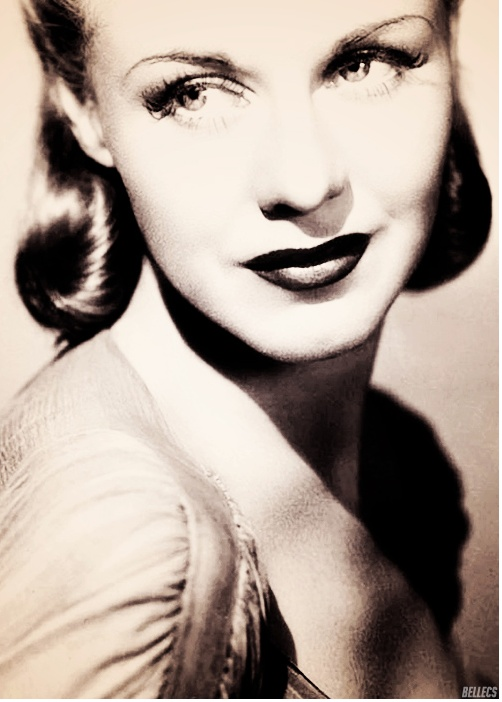 40s glamour Ginger