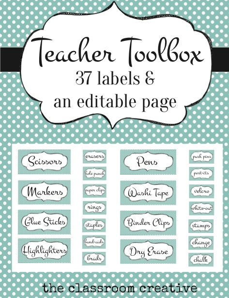 Classroom Labeling Ideas ~ Best ideas about classroom labels on pinterest
