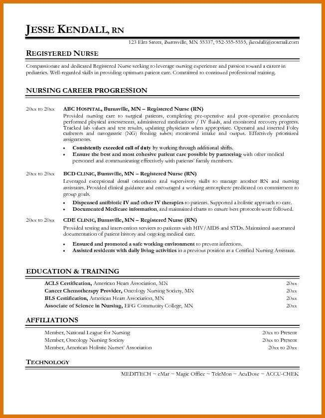 graduate nurse resume example  new graduate rn resume new