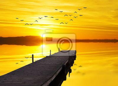 Fototapeta el lago de los deseos