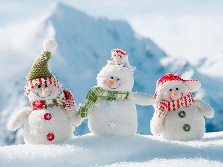 sevimli kardan adamlar