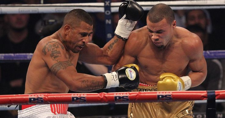 Chris Eubank Jr beats Renold Quinlan with 10th round stoppage to land IBO super middleweight title at the Olympia - Mirror.co.uk