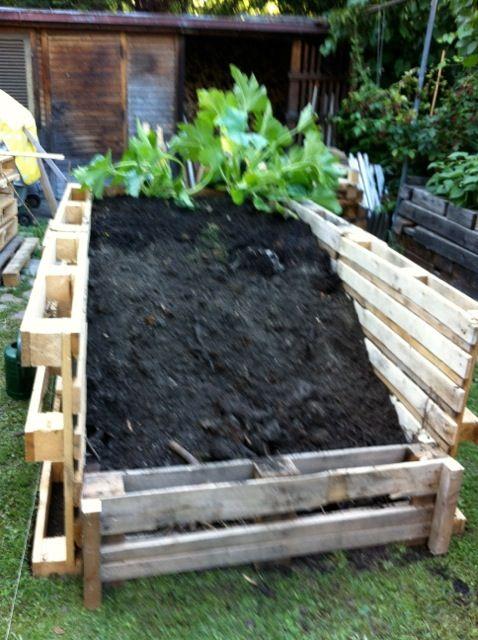 … zeig ich euch heute mit vielen Bildern. Im Frühling 2012 haben wir uns dazu entschlossen einige Hochbeete zu bauen. Eigentlich sind es keine richtigen Hochbeete, sondern hohe Beete u…