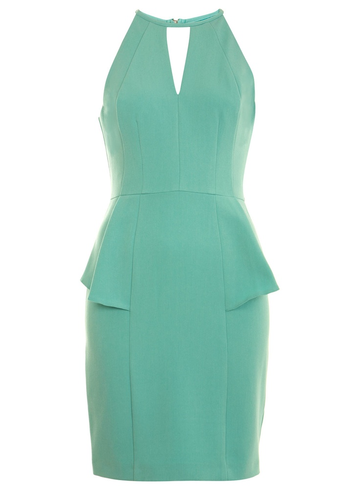 : Dresses Shops, Mint Green, Wedding, Dresses 74, Pretty Colors, Beautiful Dresses, Mint Dresses, Halter Peplum, Peplum Dresses
