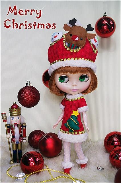 293 best Christmas Blythe X images on Pinterest  Blythe dolls