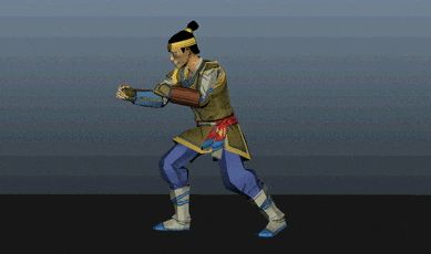 When working on death animations in a fighting game, you have to show a sense of finality, but make sure you match with the overall tone (and brutality level) of the game. See more about our game at shuyangame.com  #gamedev #animation #indiegame #videogame #fighting #kungfu #martialarts #ipad #ios