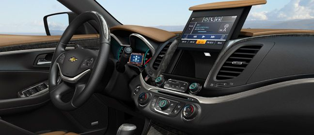 The new Valet mode feature, offered with Chevy MyLink, safeguards your personal information from prying eyes and appears in the 2014 Impala later this year.