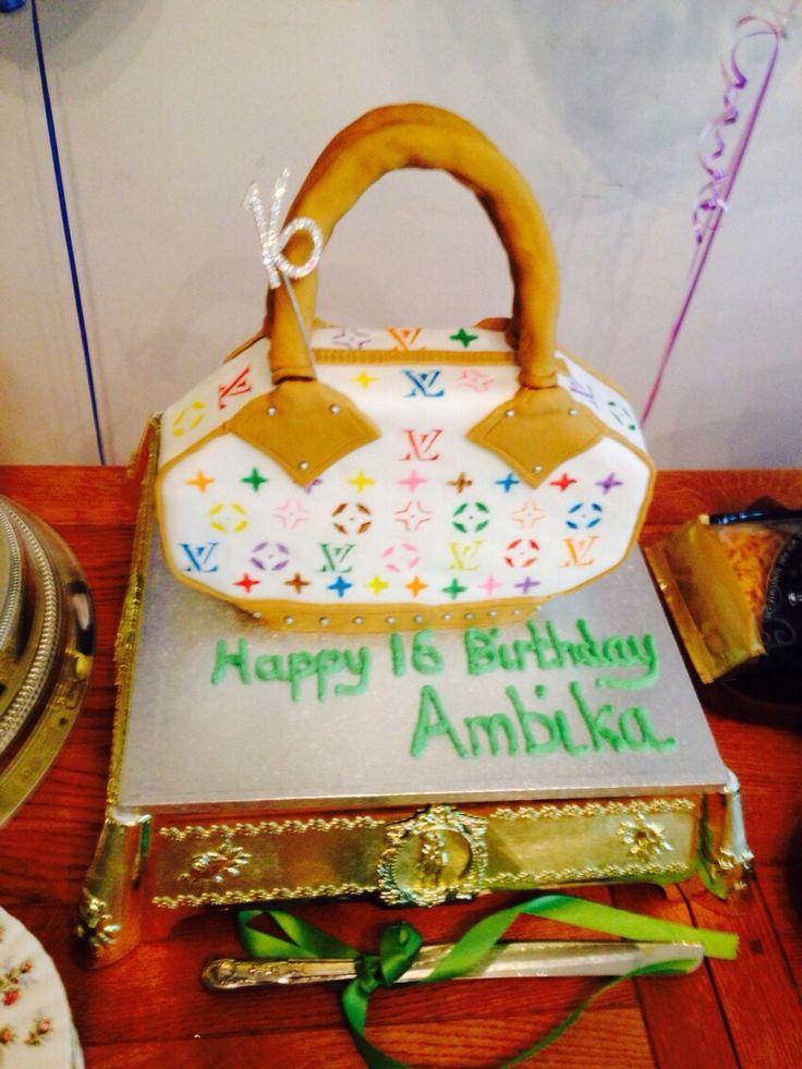 Ambika's 16th Birthday Cake