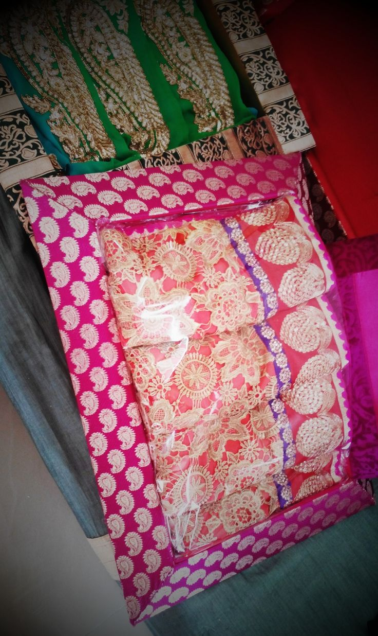 Trousseau packing services At Wrap A Smile - By Shreya Ahuja #weddings #indian #bridal #pretty #ethnic #bling #colorful #bridestobe #bridesarmour #sarees #lehengas #embroidery #designerwear #exclusivepackaging #trousseau #gifts #lovelydaughters ! Call us for inquiries/customized trousseau/ wedding packaging services - 8976921339