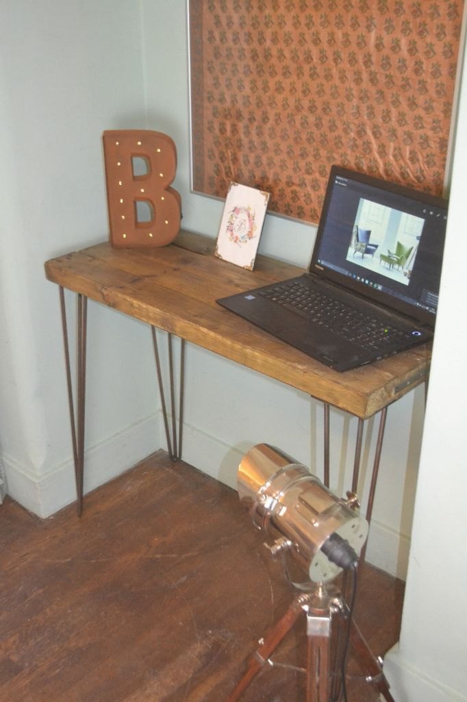 Hand Made Desk 28 best desk images on pinterest | hairpin legs, desk and home