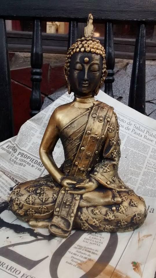 Buda de yeso #cast #buda #diy