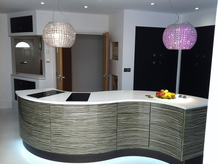 Modern Curved Kitchen Island 15 best modern curved kitchens milton keynes images on pinterest