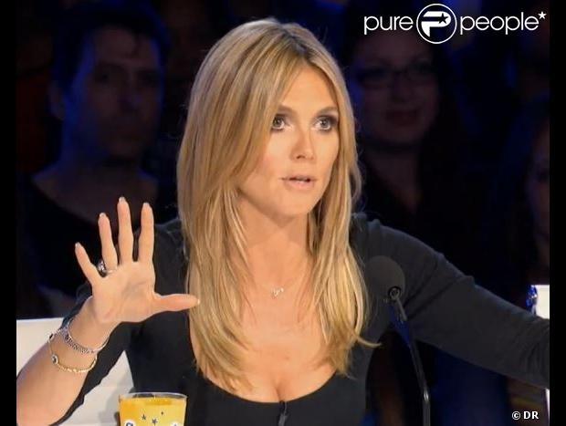 Heidi Klum sapprête à faire ses débuts de jurée pour lémission Americans Got Talent saison 8, sur NBC à partir du 2 juin.